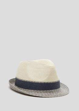 994e783e226 Two Tone Brim Straw Hat