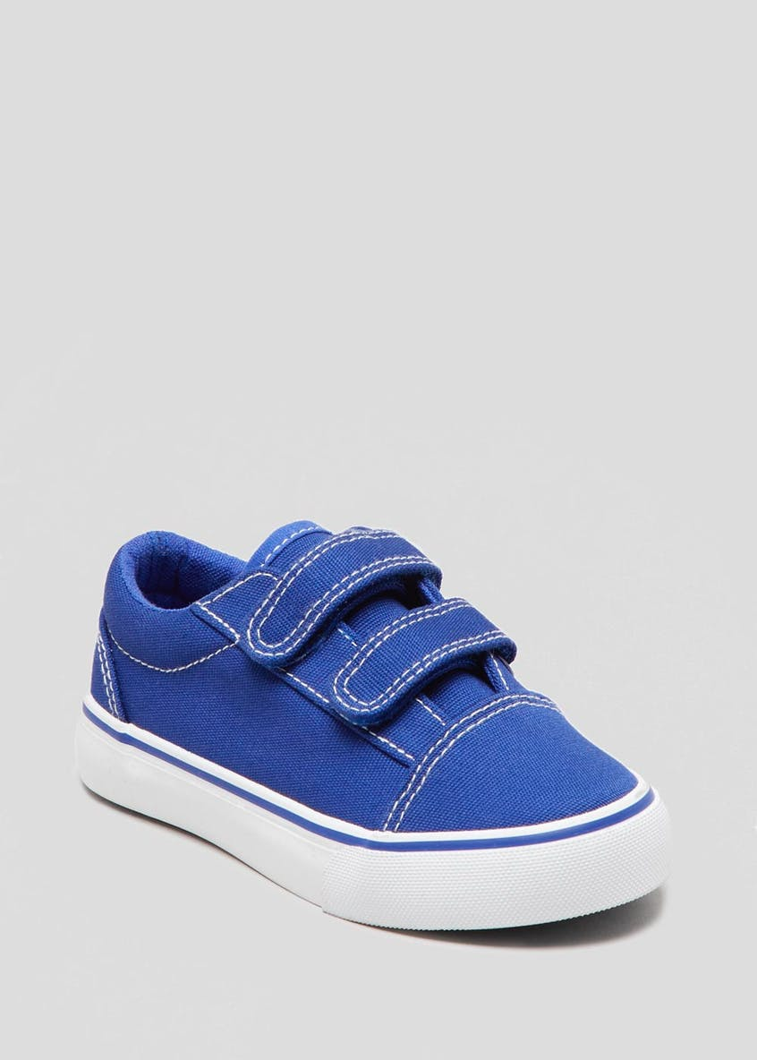 Kids Riptape Canvas Trainers (Younger 4-12)