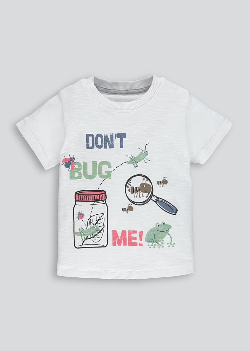 Boys Bug Print T-Shirt (9mths-6yrs)