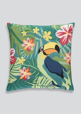 Toucan Print Outdoor Cushion (43cm x 43cm)