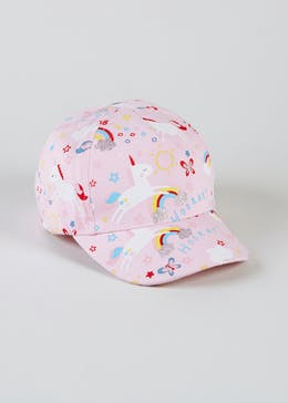 9585a8441f86b Kids Unicorn Cap (6mths-4yrs)