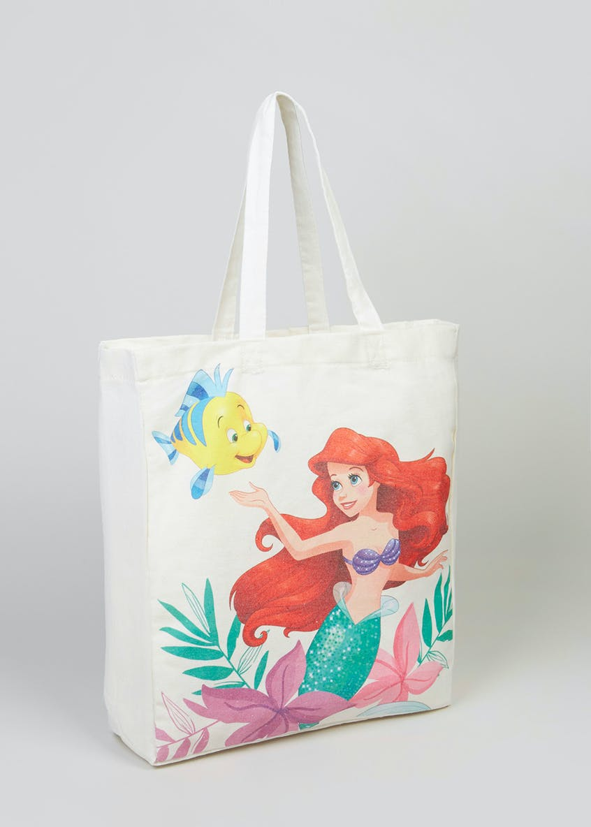 Disney Princess Ariel Canvas Tote Bag