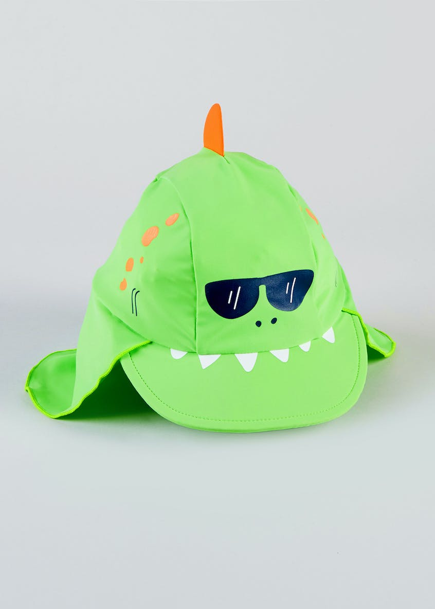 Kids 3D Crocodile Surf Hat (6mths-4yrs)