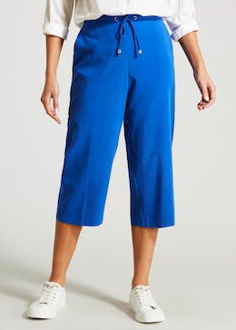 Cropped Clipper Trousers