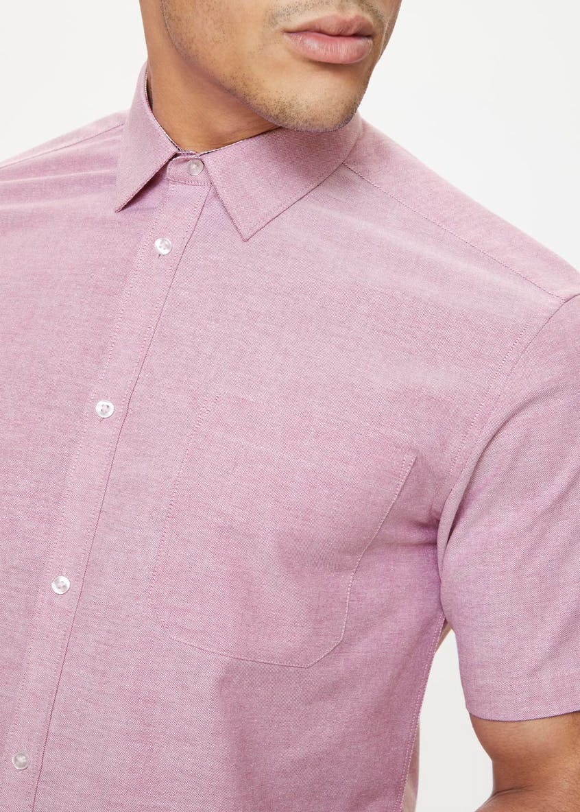 Taylor & Wright Short Sleeve Oxford Shirt