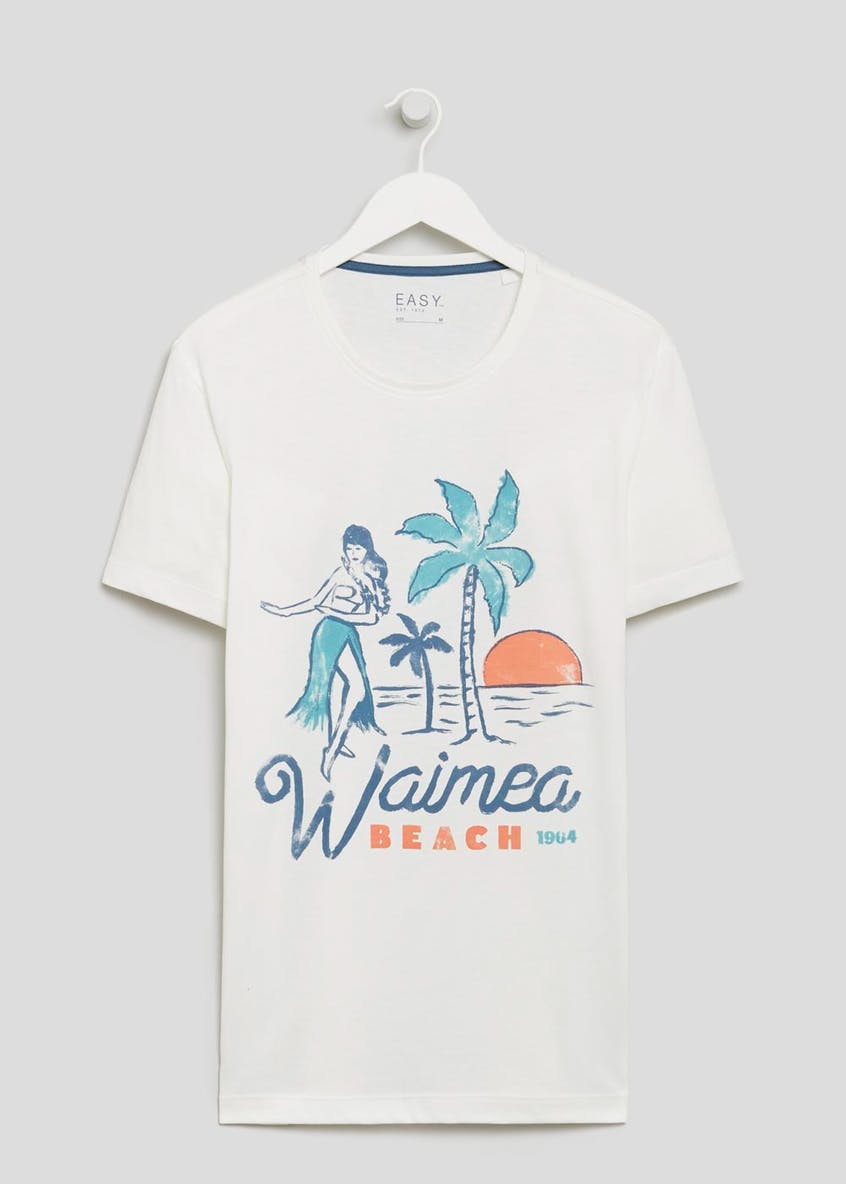 Waimea Beach Graphic Print T-Shirt