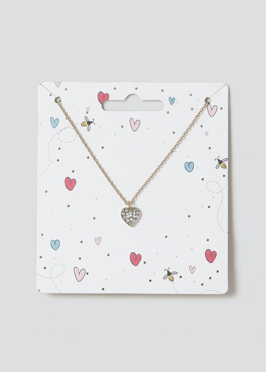 Gift Heart Ditsy Necklace