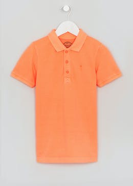Boys Neon Polo Shirt (4-13yrs)