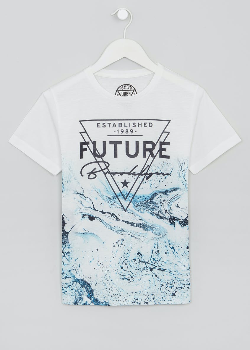 Boys Marble T-Shirt (9-16yrs)
