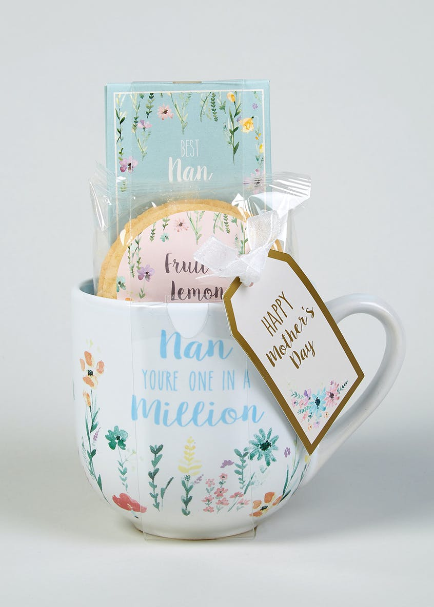 Nan Slogan Mug Set