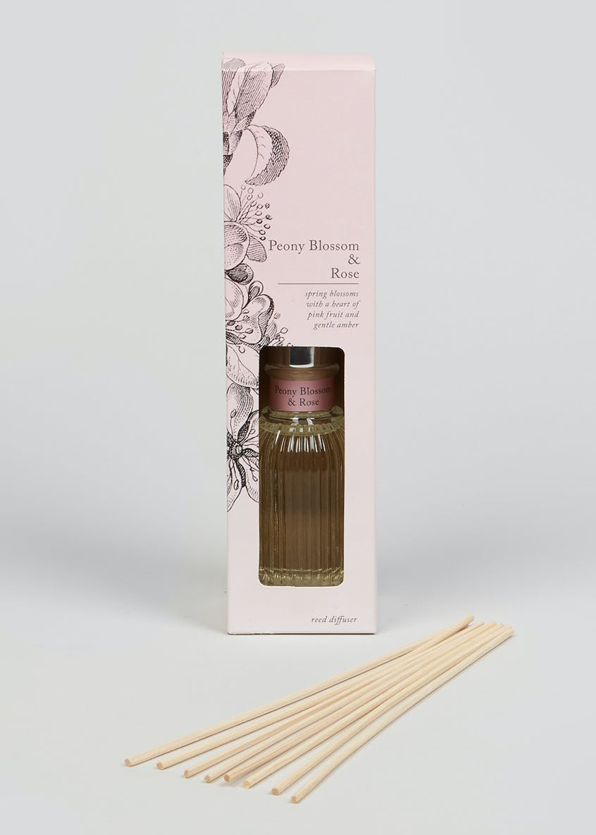 Peony Blossom & Rose Fragranced Diffuser (100ml)