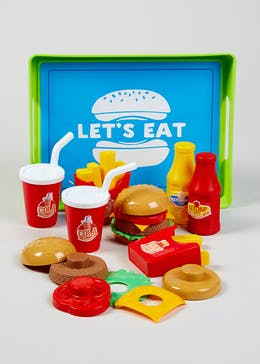 Kids Food Play Set (25cm x 19cm x 6cm)