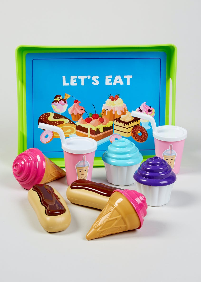 Kids Dessert Play Set (25cm x 19cm x 7cm)