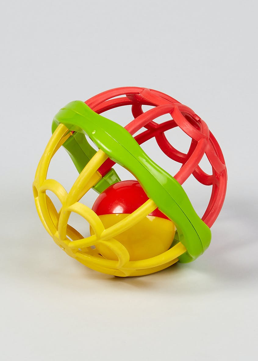 Caged Rattle Ball (9cm)