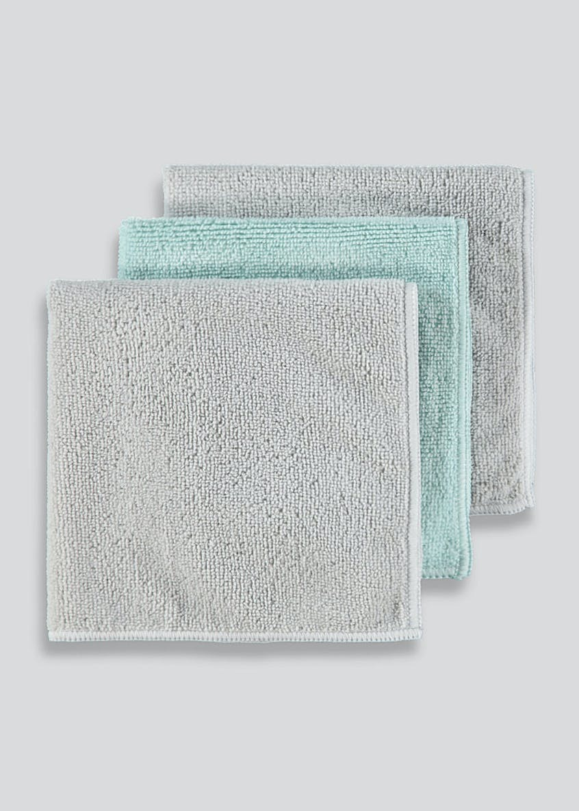 3 Pack Microfibre Cloths (35cm x 35cm)