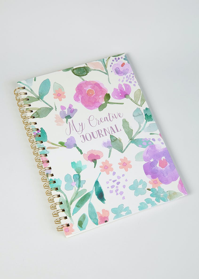 Floral Journal (A4)