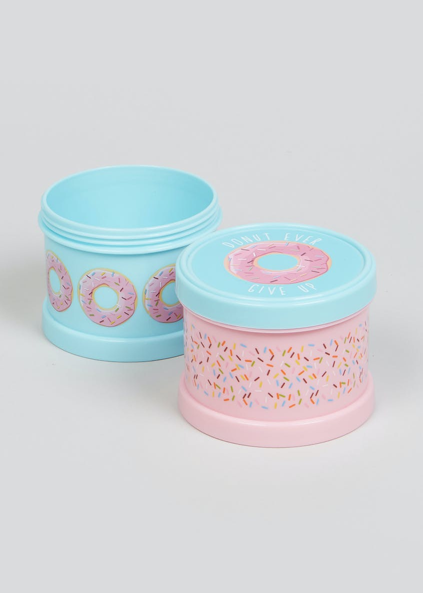 Donut Snack Pot Container