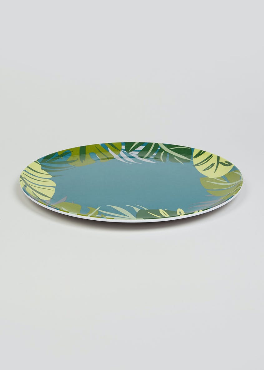 Tropical Leaf Dinner Plate (26cm)