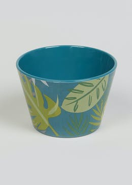 Tropical Leaf Nibbles Bowl (10cm x 7cm)