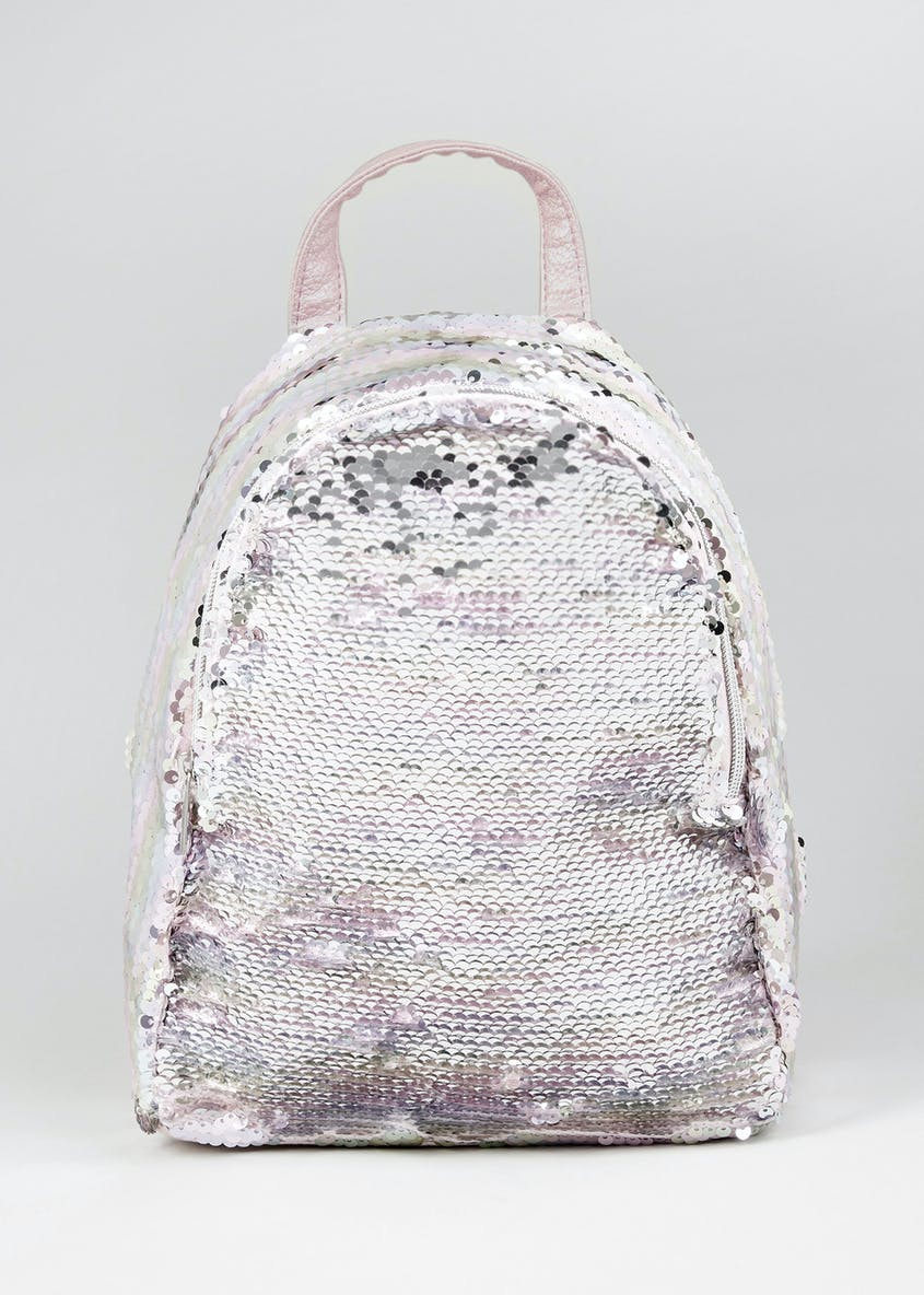 Kids Unicorn Reversible Sequin Backpack