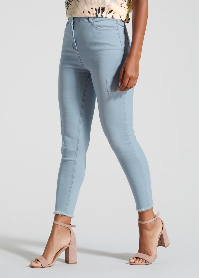 April Super Skinny Ankle Grazer Jeans