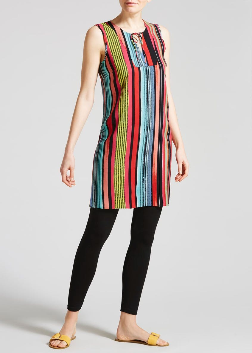 Stripe Viscose Tunic