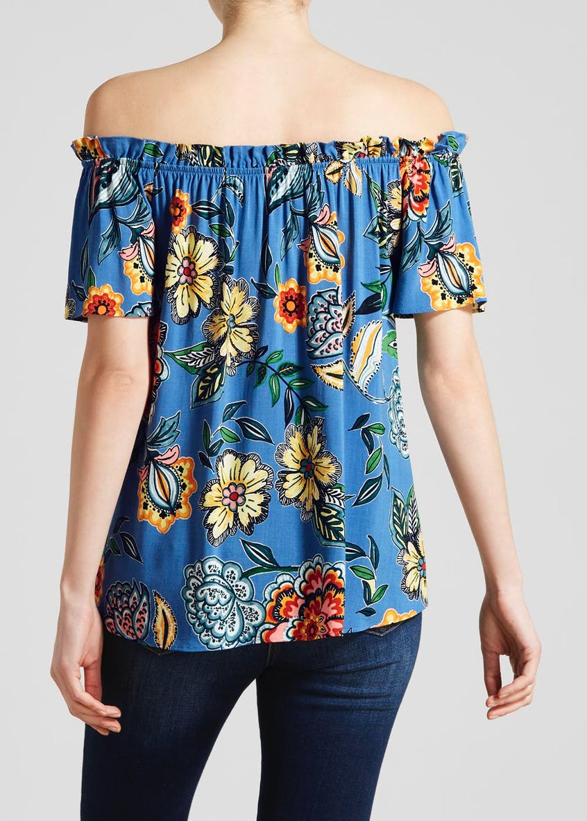 Floral Bardot Top