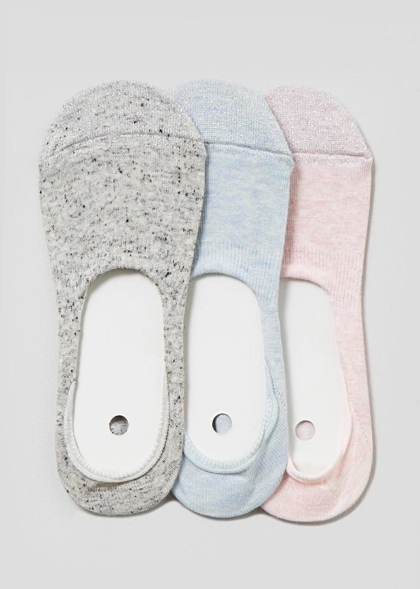 3 Pack Invisible Trainer Socks