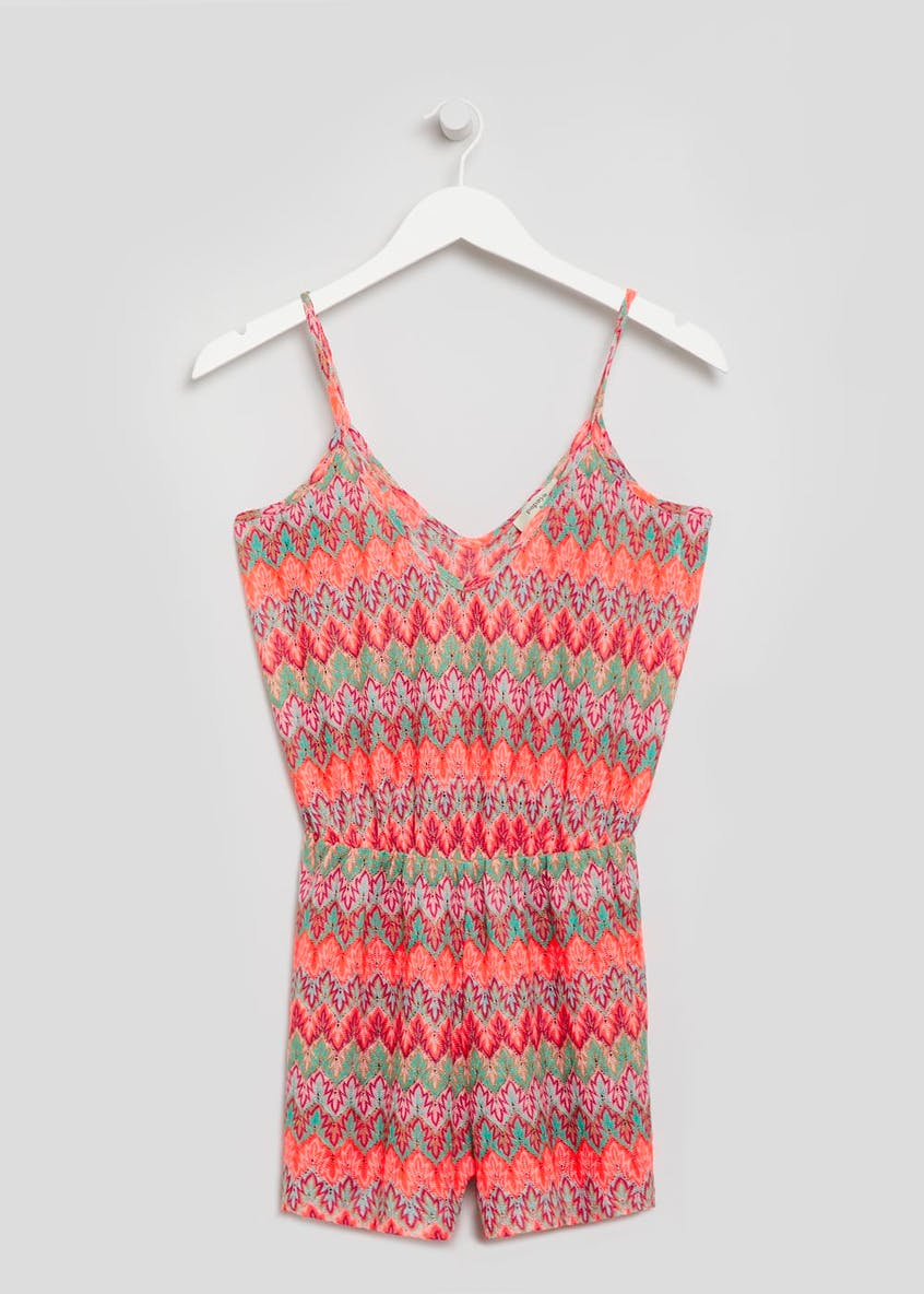 Crochet Beach Playsuit