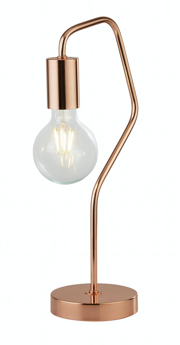 Albi Industrial Table Lamp (H40cm x W12cm)