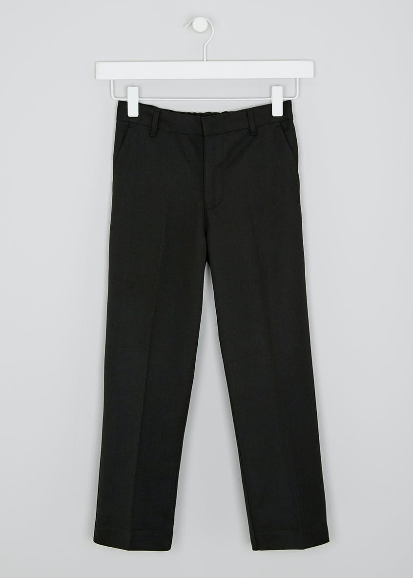 Boys Generous Fit School Trousers (6-13yrs)