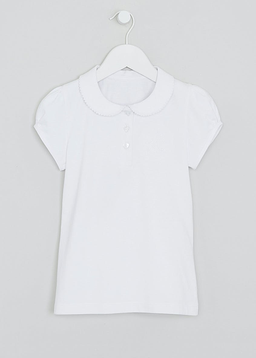 Girls Jersey School Polo Shirt (4-9yrs)