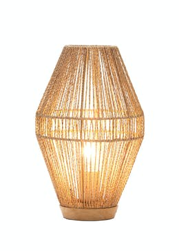 Eyal Woven Table Lamp (H36cm x W21cm)