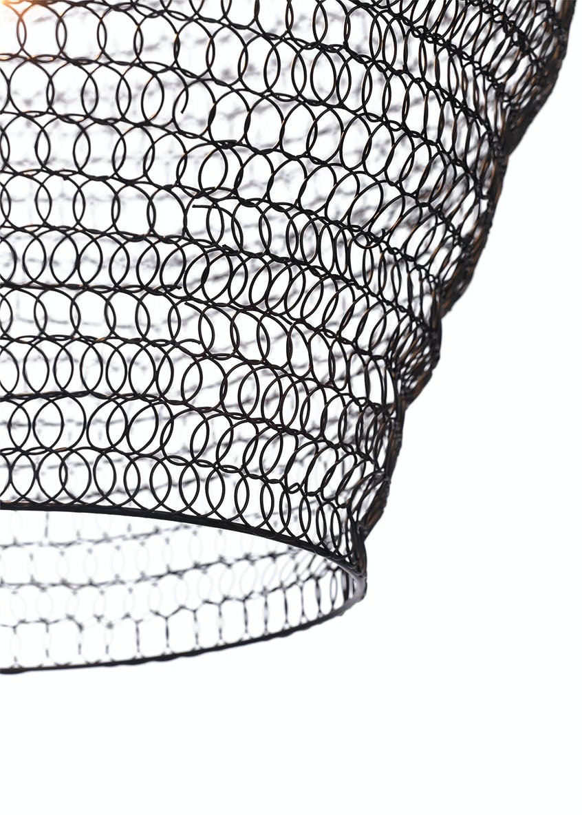 Chainmail Pendant Light (H100cm-50cm x W42cm)