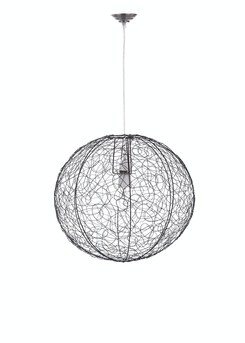 Saul Wire Easy Fit Shade (H40cm x W40cm)