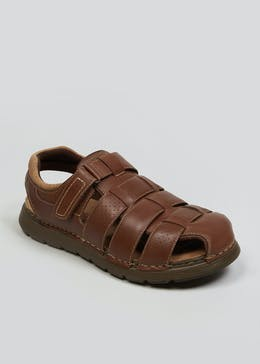 Real Leather Fisherman Sandals