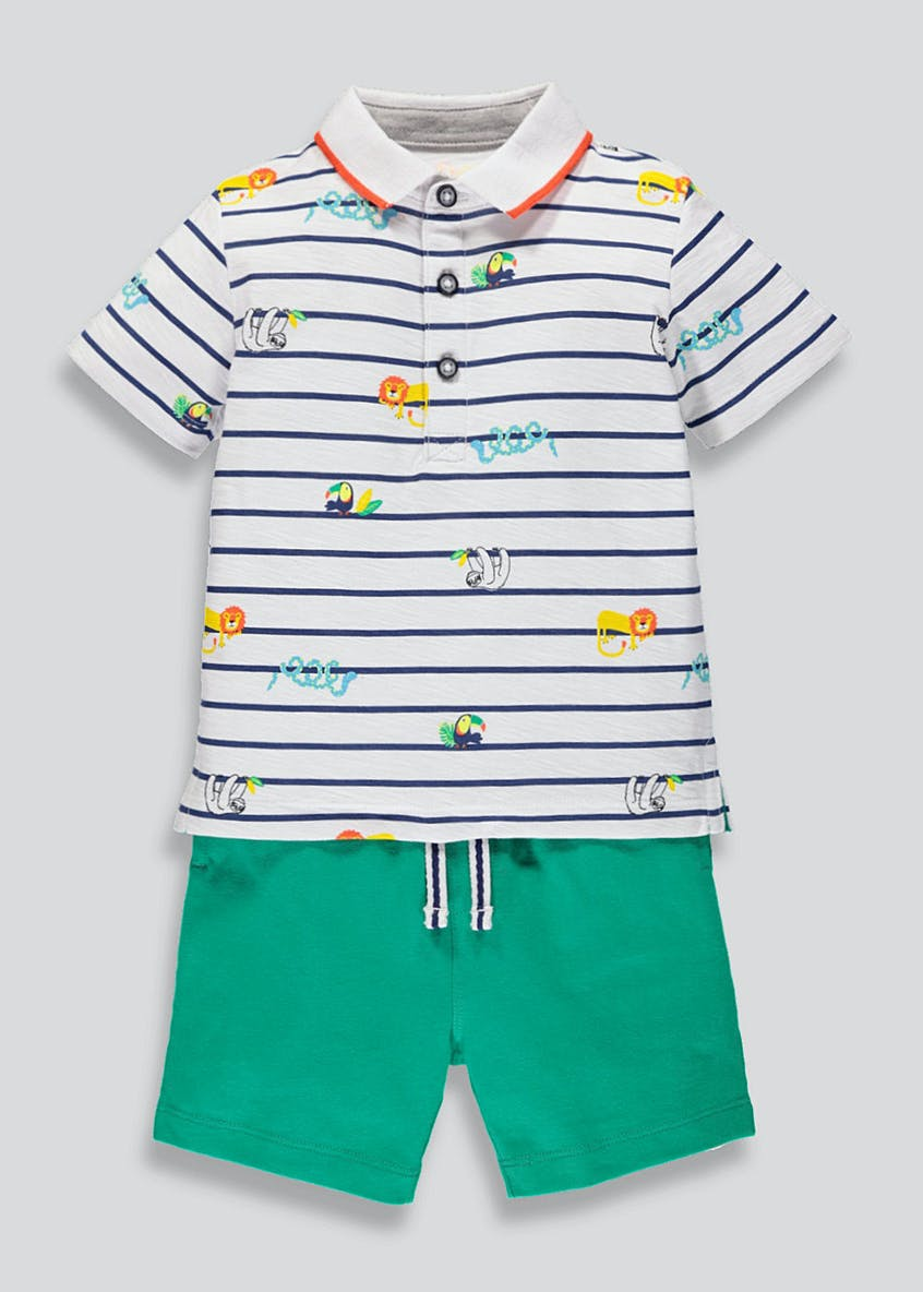 Boys Top & Short Set (9mths-6yrs)