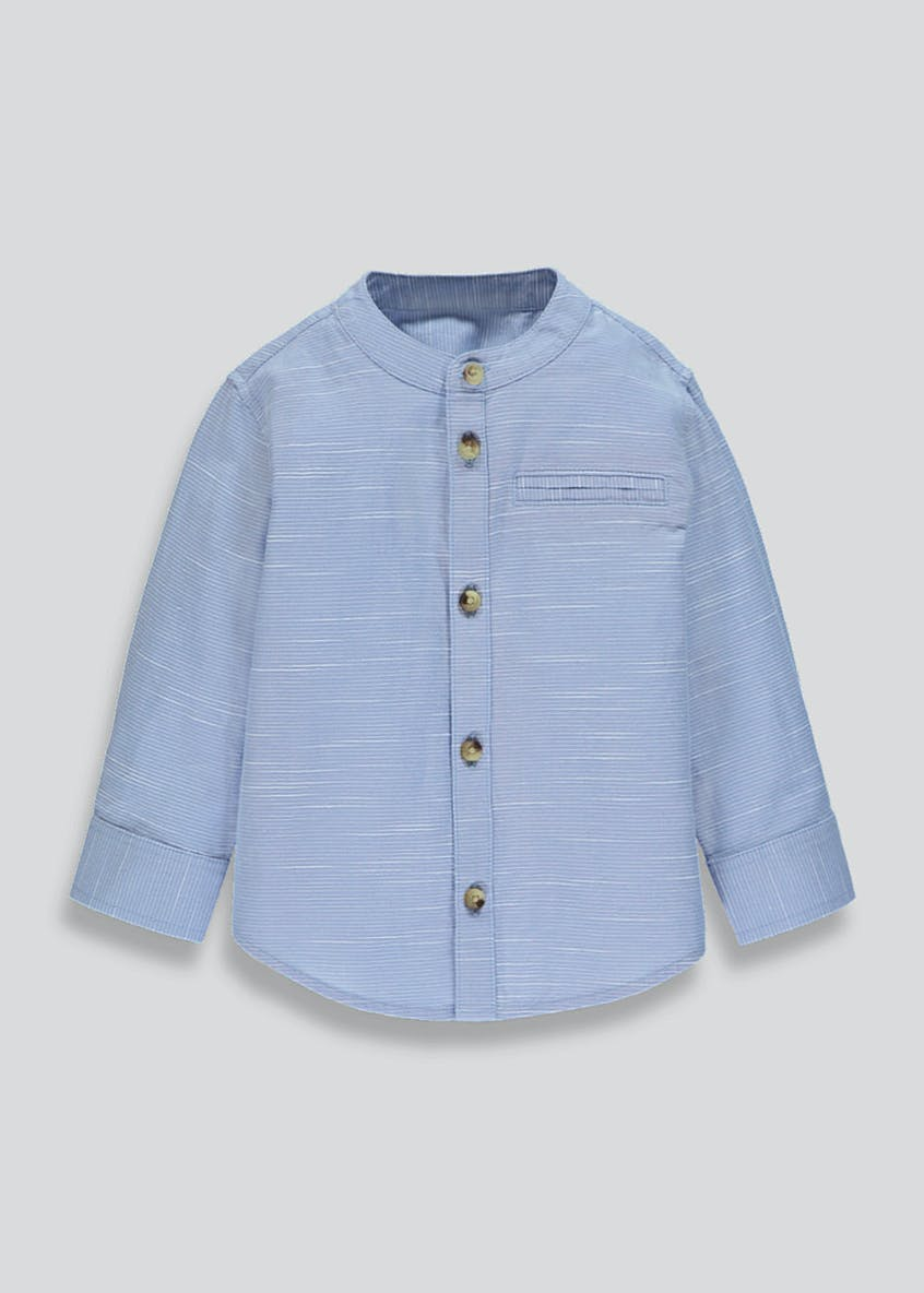 Boys Grandad Collar Shirt (9mths-6yrs)