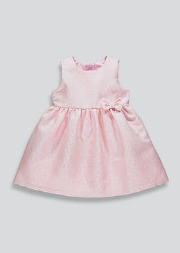 Girls Floral Metallised Dress (9mths-6yrs)