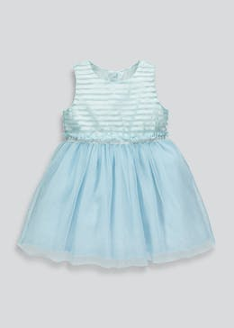 Girls Stripe Metallised Dress (9mths-6yrs)