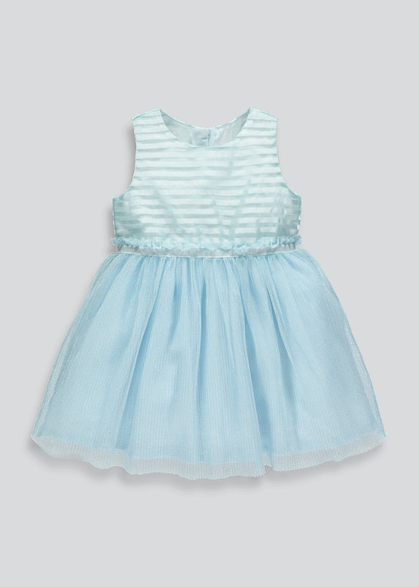Girls Stripe Lurex Dress (9mths-6yrs)