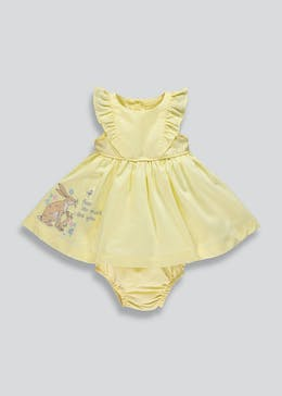 Girls Guess How Much I Love You Embroidered Dress (Newborn-12mths)