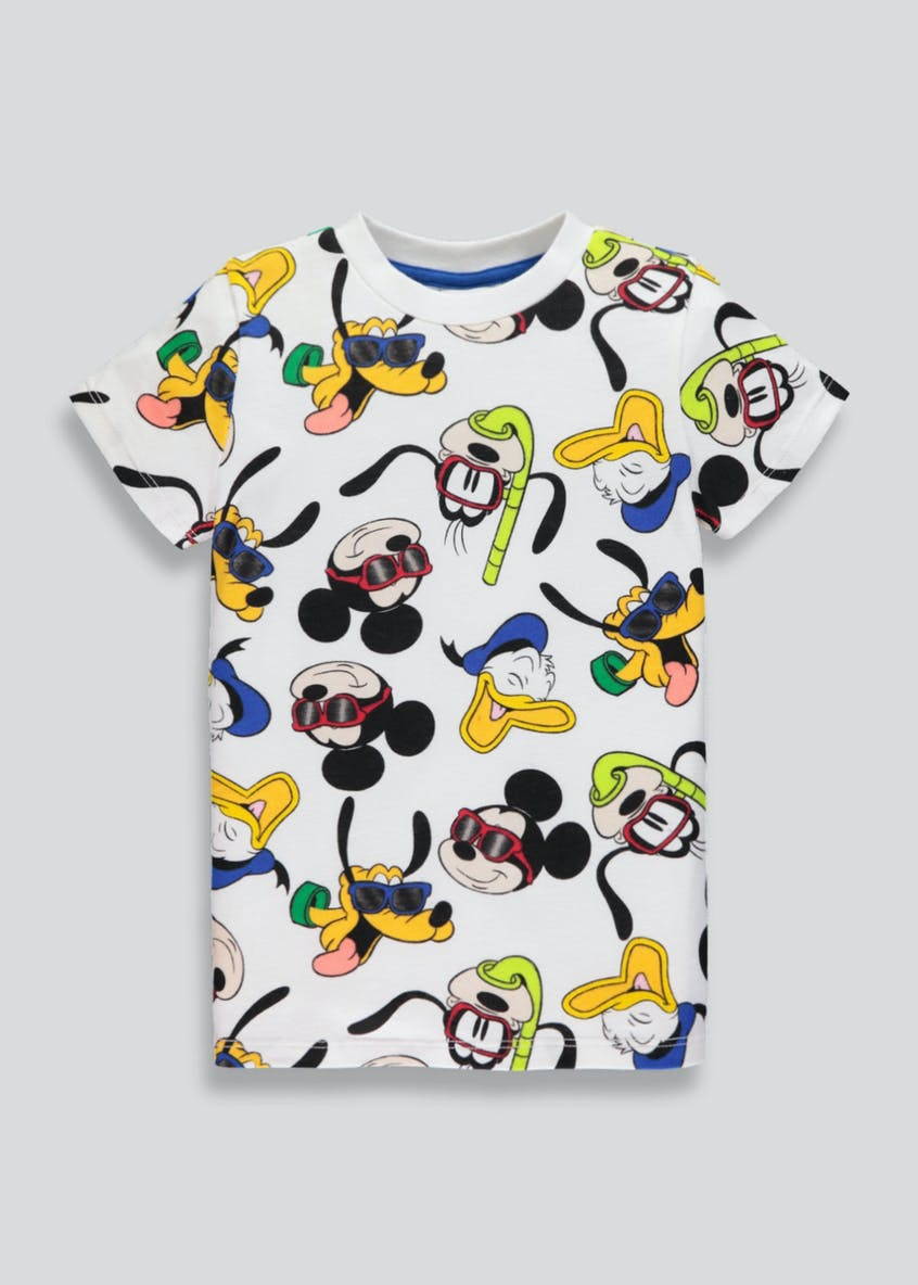 Kids Disney Mickey Mouse T-Shirt (9mths-5yrs)