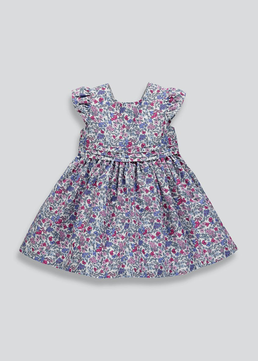 Girls Family Floral Dress (9mths-6yrs)