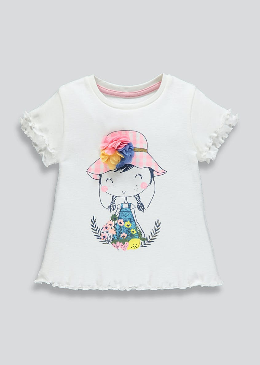 Girls Printed T-Shirt (9mths-6yrs)