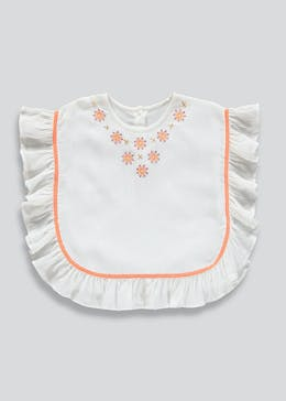 Girls Embroidered Kaftan (9mths-6yrs)