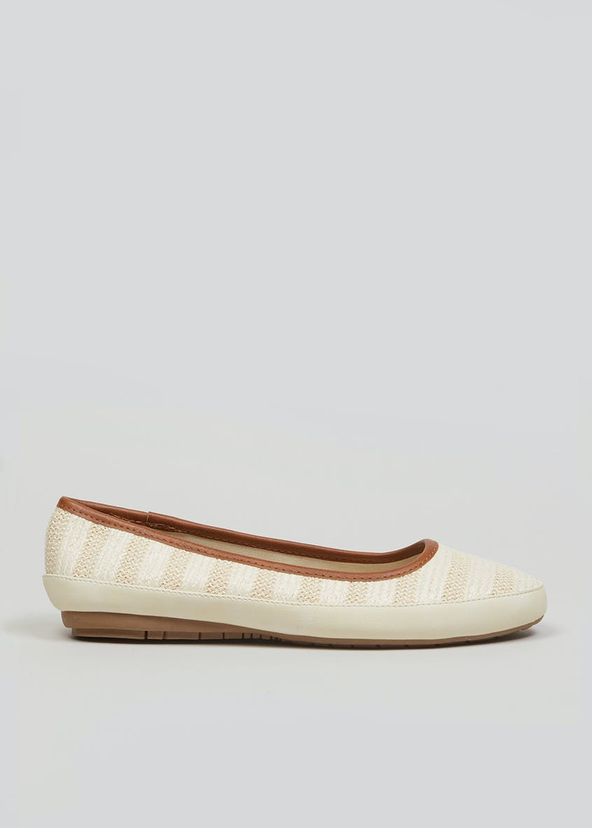 Soleflex Stripe Ballet Shoes