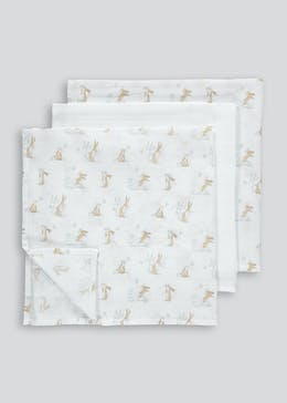 3 Pack Guess How Much I Love You Muslin Squares