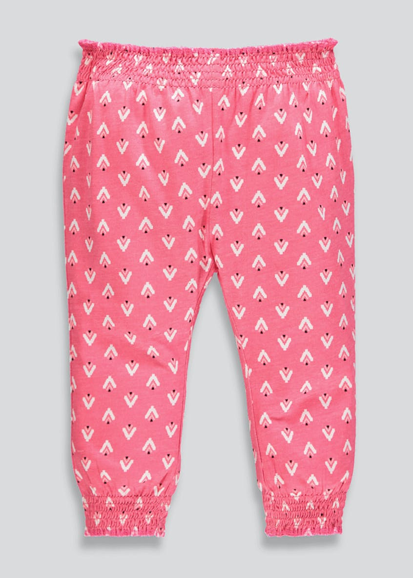Girls Printed Harem Trousers (9mths-6yrs)