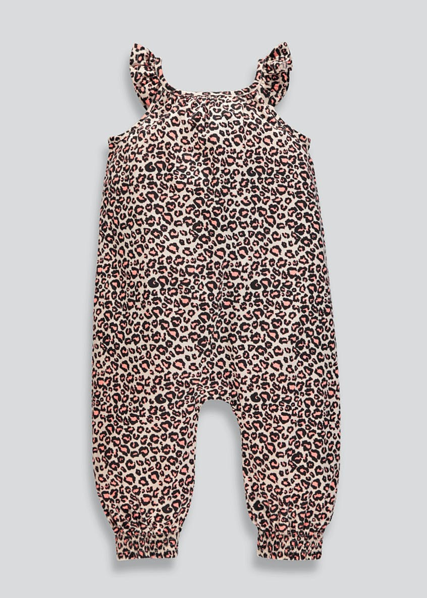 Girls Animal Print Jumpsuit (9mths-6yrs)